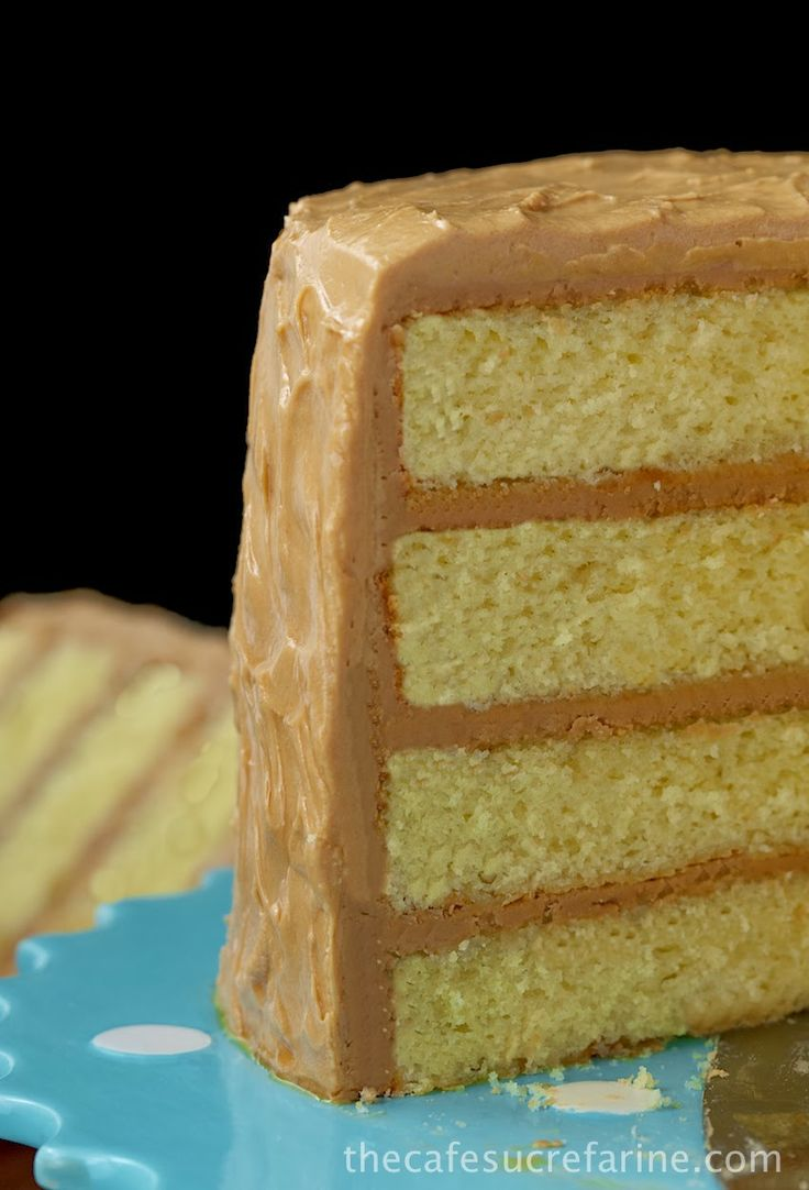 ... Cakes, Yellow Cakes, Caramel Cakes, Recipes Treats, Caramel Ice, Cake