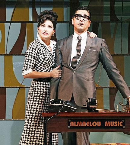 Bye Bye Birdie - Show Photos - Gina Gershon - John Stamos (close)