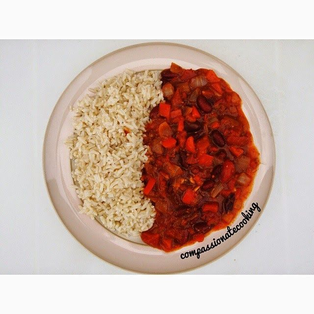 Compassionate Cooking: Vegan Chilli