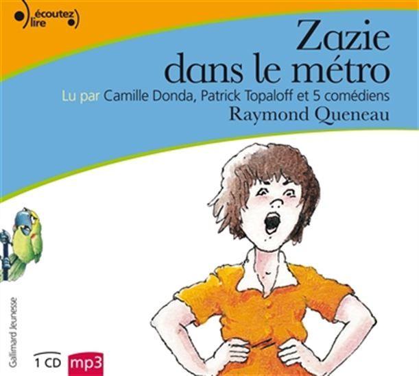 Zazie dans le métro (CD MP3 : 4 h)