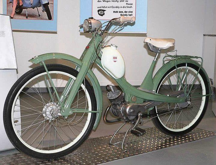 quickly nsu motorized bike pinterest motos anciennes moto et ancien. Black Bedroom Furniture Sets. Home Design Ideas