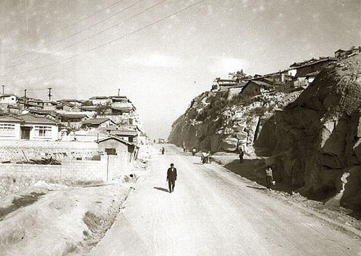 1963년 금호동-옥수동 도로확장공사