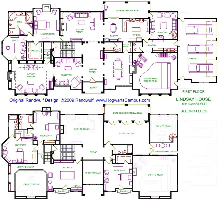 lindsay house floor plan
