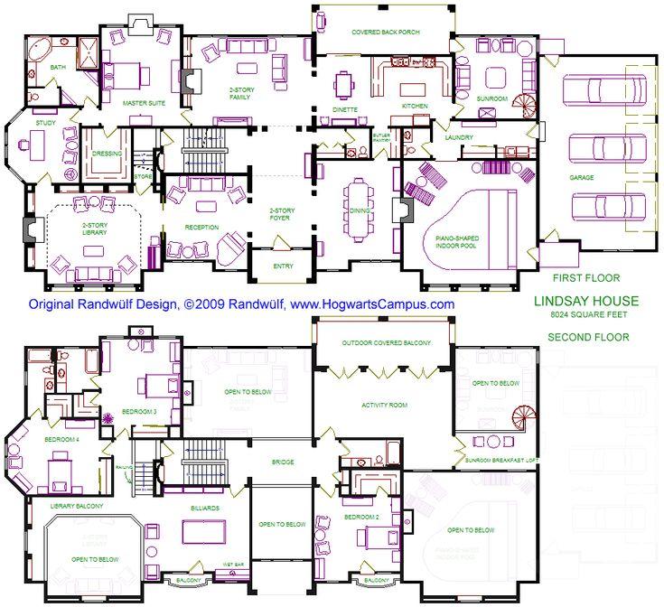 Lindsay House Floor Plan House Plans Pinterest