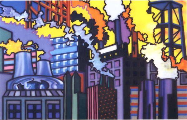 Shadow Factories, 1989, Howard Arkley