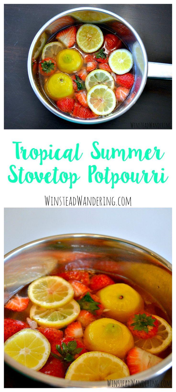 how to make lemon potpourri