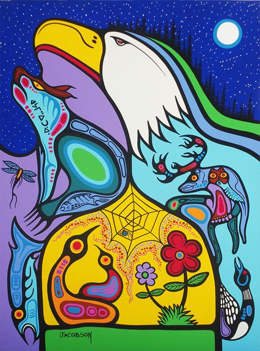 Mark Anthony Jacobson — Kingdoms of the Spirit