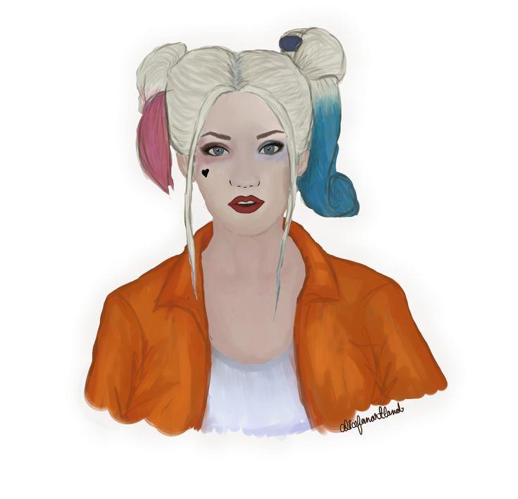 @thehillywoodshow inspired Harley Quinn fanart ____________________________ @hillyhindi @hannahhindi