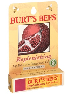 a staple!Bees Pomegranates, Replenish Lips, Lip Balm, Bees Lips, Burts Bees, Lips Balm, Bees Replenish, Pomegranates Lips, Products