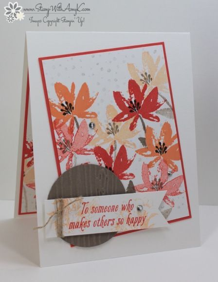 Stampin' Up! Avant Garden for Sunday Stamps
