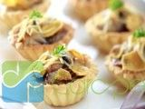 Resep Pie Jamur Daging Asap