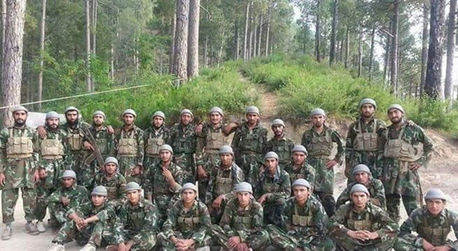 Jammu: A Hizbul Mujahideen latest terrorist batch picture which was released on Wednesday morning is going viral on the internet. The image posted by news agency ANI shows the latest batch of terrorists reportedly being trained at a camp in Pakistan-occupied Kashmir's Muzaffarabad. According to...