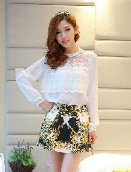 35 best images about Cheap Korean Women blouse wholesale on Pinterest
