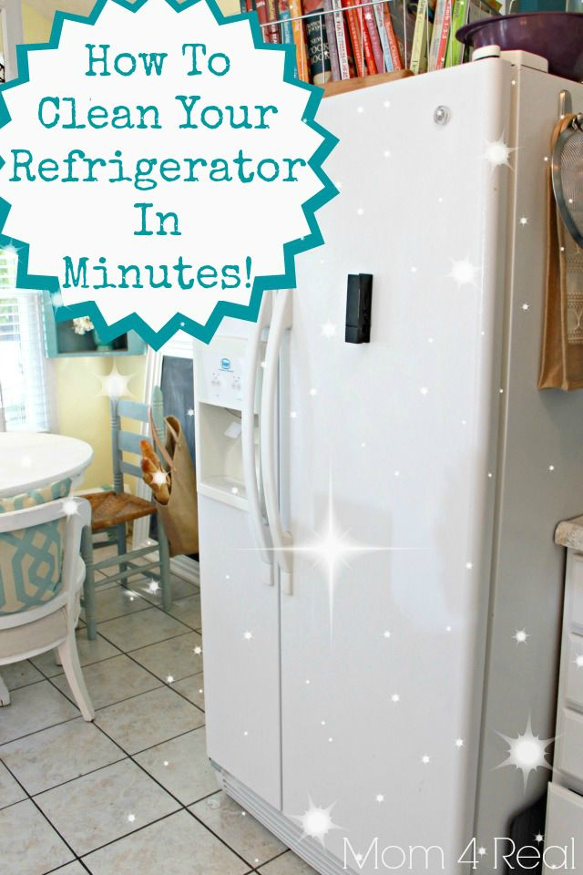 how to get a clean refrigerator with no chemicals refrigerator organization clean. Black Bedroom Furniture Sets. Home Design Ideas