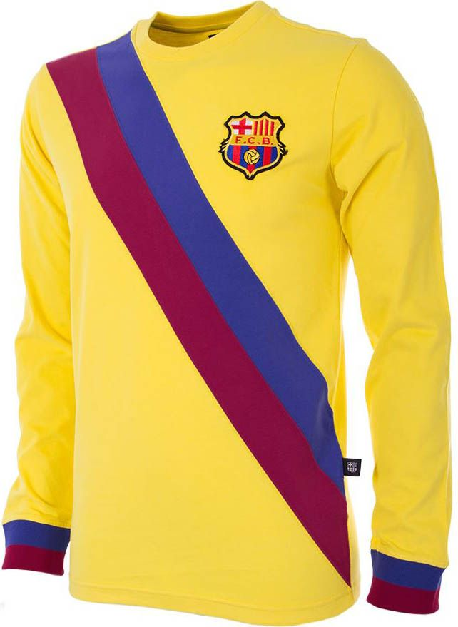Stunning FC Barcelona Retro Kit Collection Released - Footy Headlines  0ed04a773
