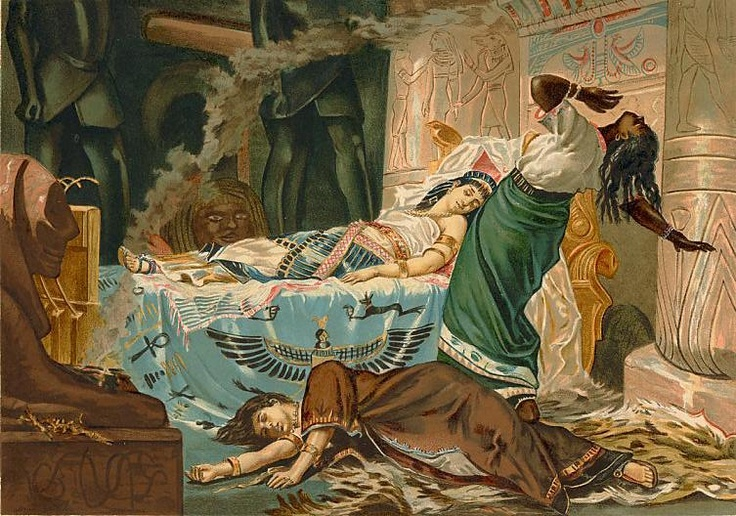 Juan Luna (Filipino, 1857-1899), La muerte de Cleopatra, 1881