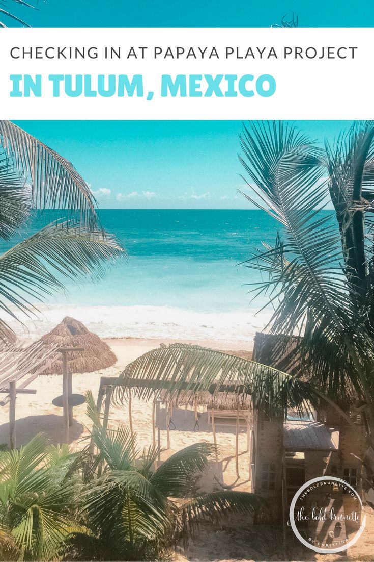 "Experience ""barefoot luxury"" at Papaya Playa Project in Tulum!"