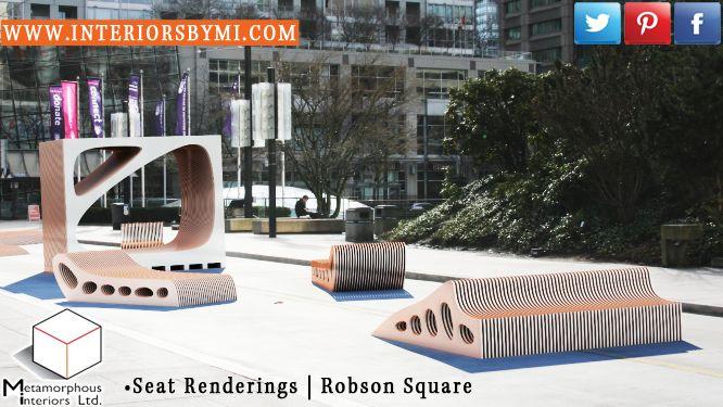 Seat #render www.InteriorsBYMI.com #RobsonSquare #Vancouver #Design #Vision