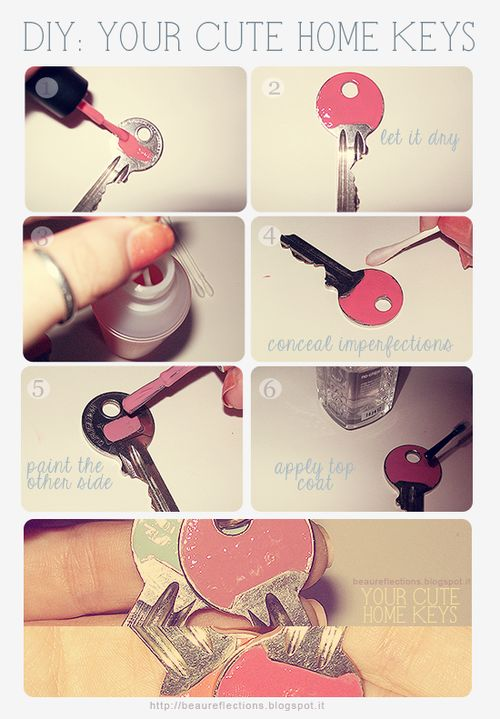 DIY YOUR CUTE HOME KEYS