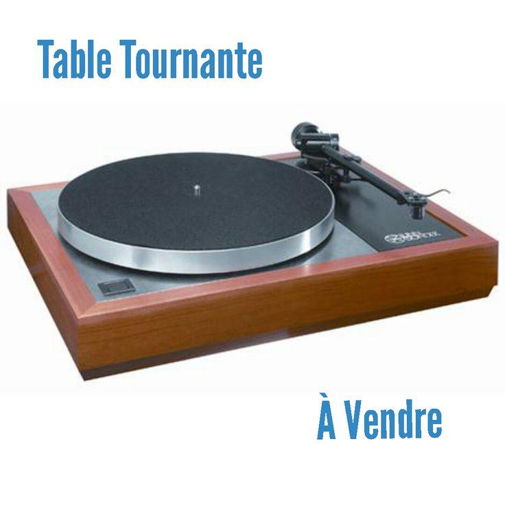 10 best table tournante vendre turntable for sale images on pinterest record player. Black Bedroom Furniture Sets. Home Design Ideas