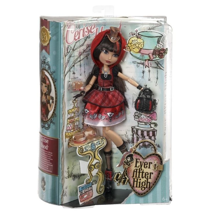 #EVER AFTER HIGH Hat-tastic Party Cerise Hood Doll NEW IN BOX. $39.99