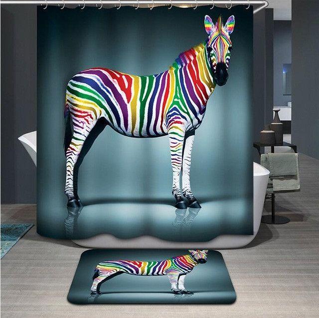 17 Best Ideas About Zebra Curtains On Pinterest
