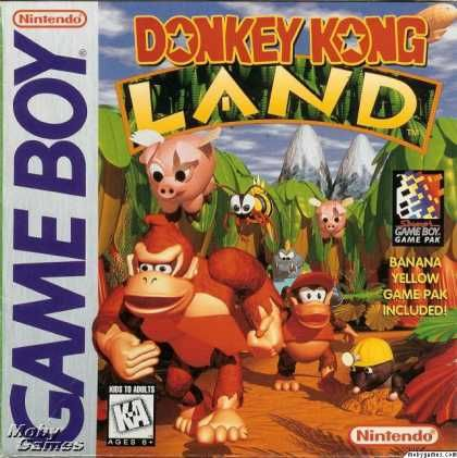 Donkey Kong Land - GameBoy