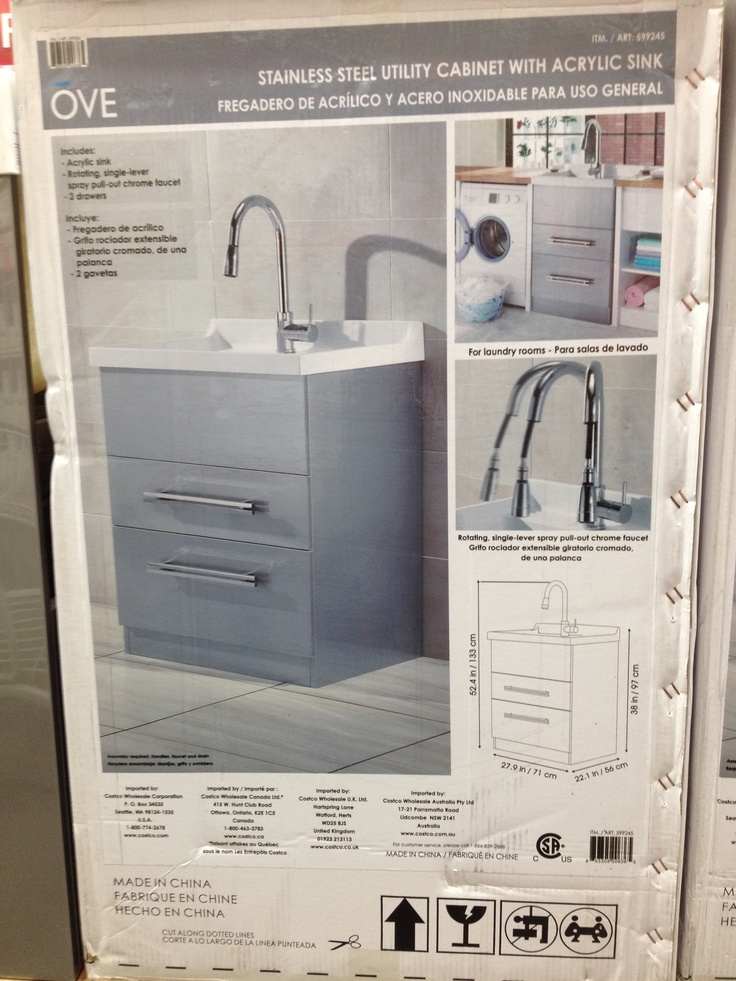 Love This Utility Sink At Costco Mud Room Pinterest