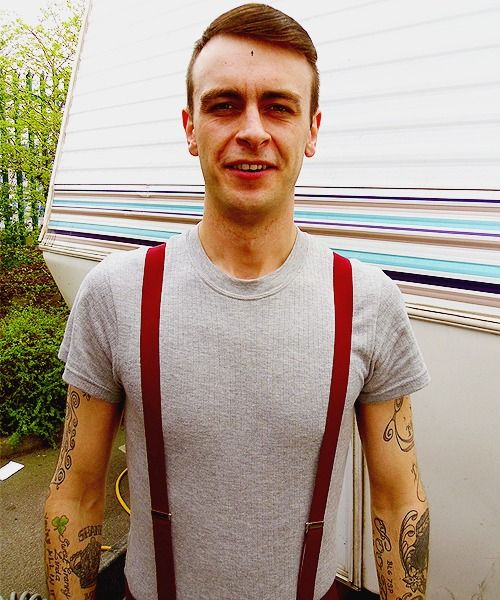 finally getting around to watching 'this is england 88' & thank god woody is back to being hot.