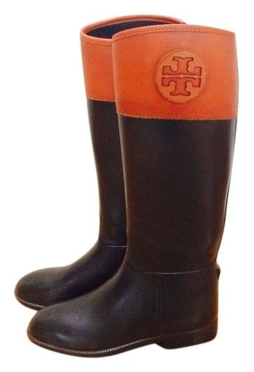Tory Burch Tory Black And Tan Leather Boots. Get the must-have boots of this season! These Tory Burch Tory Black And Tan Leather Boots are a top 10 member favorite on Tradesy. Save on yours before they're sold out!