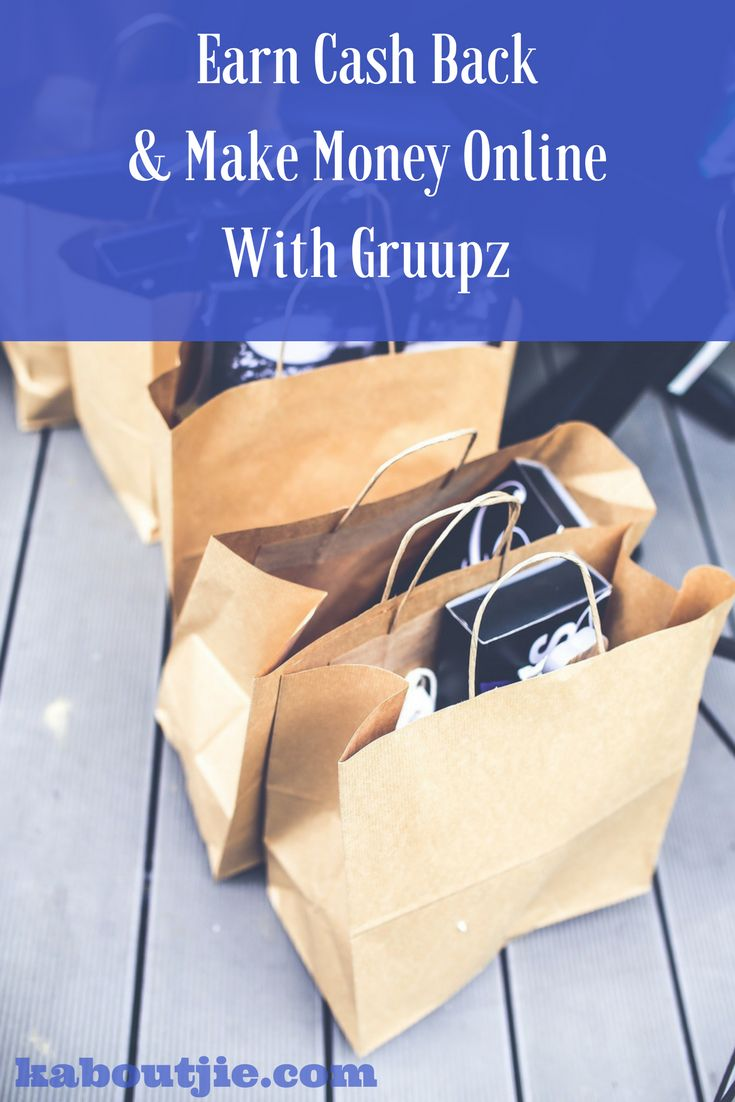 Did you know that you can earn cash back on your Amazon purchases with GRUUPZ? Plus you can make $3 for each person you refer!   It costs nothing to join and you will only benefit.  Here's how to earn cash back and make money online with GRUUPZ  #EarnCashBack #EarnCashBackAmazon #AmazonShopping #MakeMoneyOnline #GRUUPZ