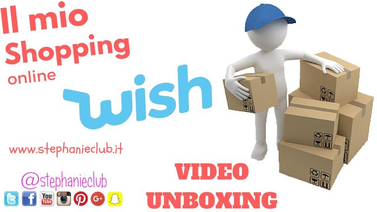 #HAUL - Il mio shopping online su Wish | UNBOXING