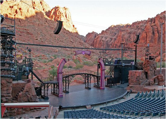 Tuacahn, St. George Utah. Love this place!  Annie Get Your Gun, Tarzan, Hairspray, Fiddler on the Roof, and many more plays we have enjoyed!