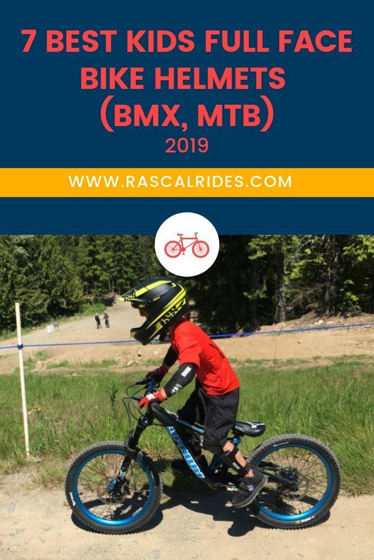 7 Best Kids Full Face Helmets Bmx Mtb 2020 Bike Helmet