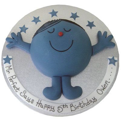 Mr Perfect Mr Men Cake