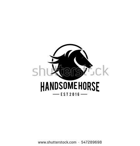 Handsome Horse for your logo or illustration requirements