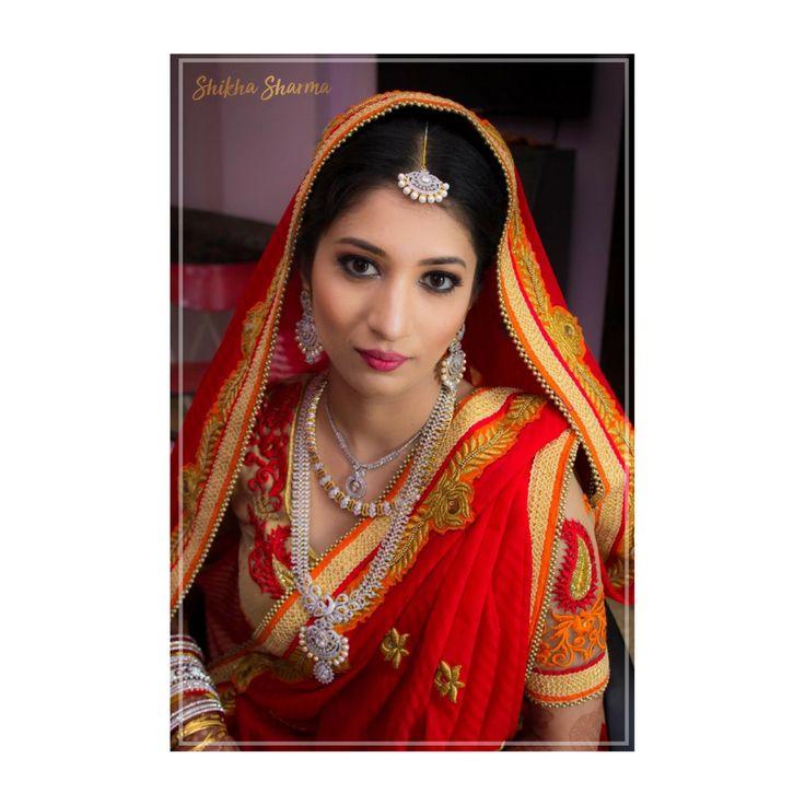 Ayana Advani you were a pretty canvas to work on. Our #SSBride is a pure definition of elegance.  #shikhasharmaartistry #makeup  #eyemakeup #indianbrides #indianweddingseason #bridalmakeup #indianmakeupartist #instamakeup #indianweddings #makeupartists #makeupartist #DestinationWedding #lookoftheday #igers #puneigers #instagood #mumbaiigers #mumbai #indianbridal #fashion #pictureoftheday #delhi #makeupblogger #bridalartist #indianmakeupblogger #india #makeuplove #beauty