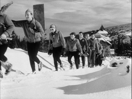 Hungarian olympians (1952) [video] |Repozytorium Cyfrowe Filmoteki Narodowej #sport, #olympics, #winter