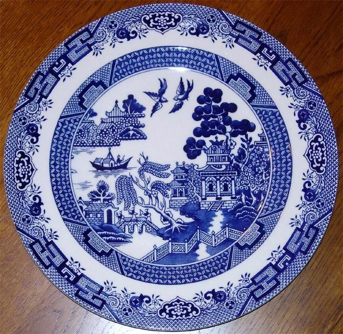 Blue \u0026 white china has been a Southern staple for generations. My favorite is \   sc 1 st  Pinterest & 37 best Blue willow etc. images on Pinterest | Blue and white White ...
