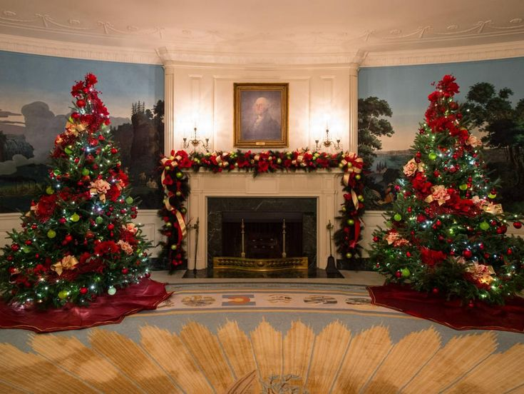 White House Christmas Tour 2016 - Part I