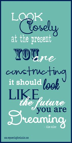 56 best christian coaching images on pinterest christian life look closely at the present you are constructing it should look like the future you are dreaming christian life coaching thecheapjerseys Choice Image