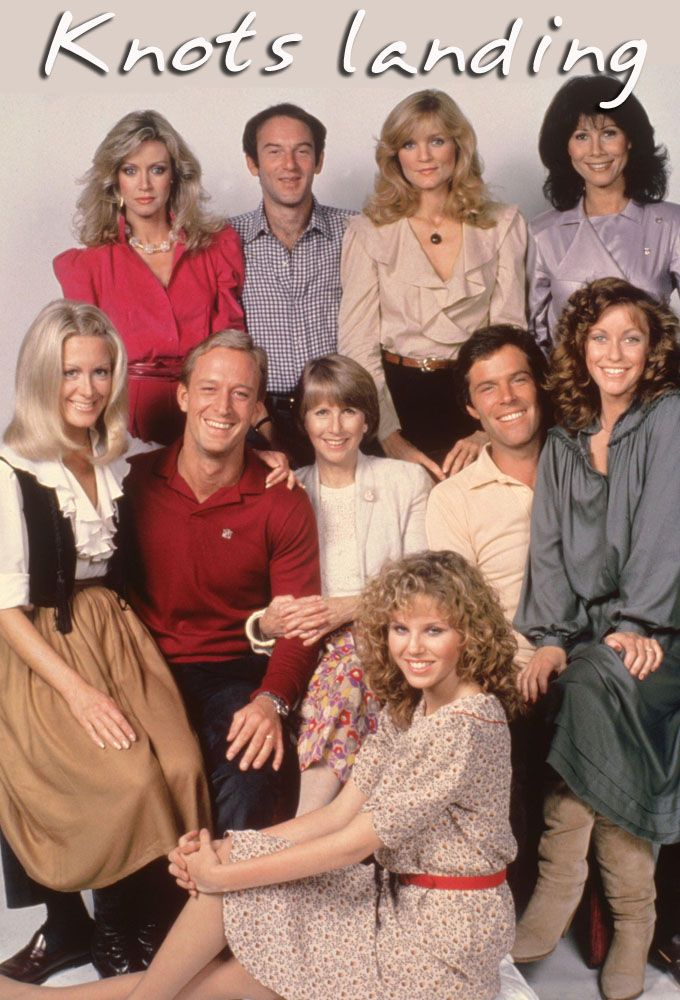 Knots Landing (1979–1993) - Stars: Michele Lee, Ted Shackelford, Joan Van Ark. - Gary and Valene Ewing, relatives of the Ewing clan of Dallas, arrive in Knots Landing to make a new home for themselves. However, scheming Abby Fairgate-Cunningham later breaks up their marriage when she seduces Gary. - DRAMA