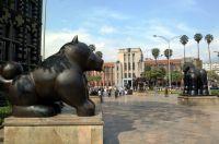 Botero Sculptures Plaza