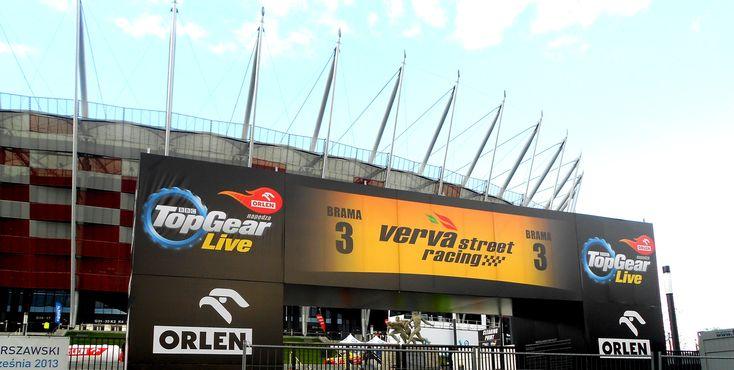 Stadion narodowy na Top Gear Live
