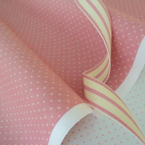 FQ -DUSTY PINK - MICRO PIN DOT SPOT 100% COTTON FABRIC FASHION CRAFT PATCHWORK | eBay