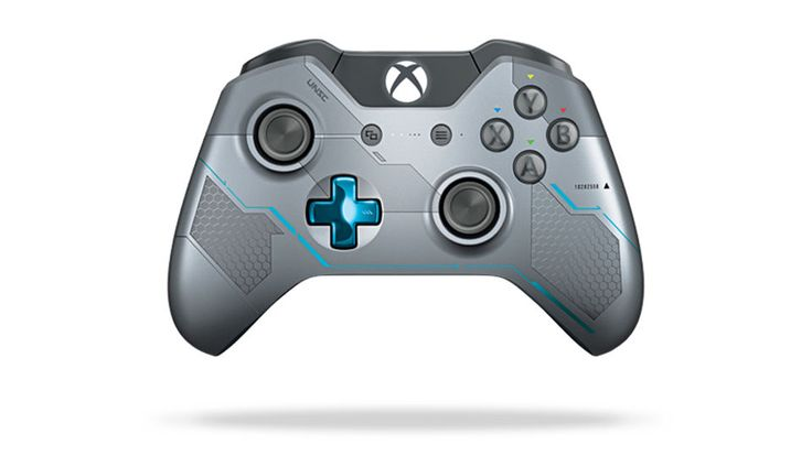 Own the Xbox One Limited Edition Halo 5: Guardians controller featuring a unique laser-etched design, metallic blue accents, military insignias. Inspired by Spartan Locke and UNSC technology, this extraordinary controller takes you deeper into the Halo Universe. | eBay!