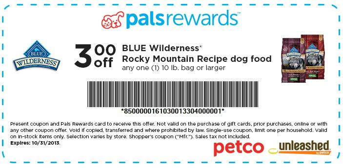 photo about Blue Buffalo Dog Food Coupons Printable named Blue buffalo cat food stuff discount coupons : 2018 Savings