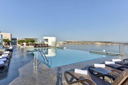 Zwembad op dakterras - db San Antonio Hotel & Spa****