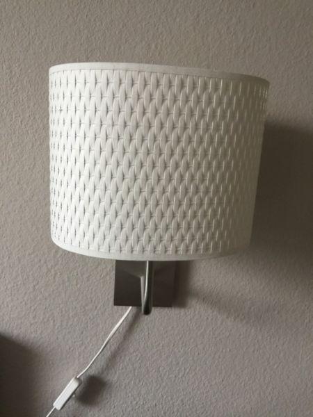 2 Nachttischlampen Von Ikea Zu Verkaufennur Zum Hangen In Silber