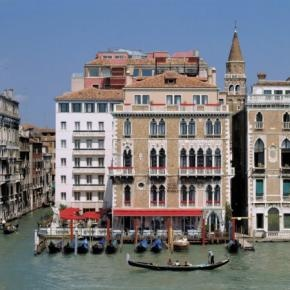 Bauer IL Palazzo Hotel Venice Exterior - our room was top left corner w/patio, how lucky were we...